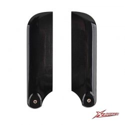 Carbon Fiber Tail Blades 105mm  XL70T22