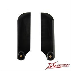 Carbon Fiber Tail Blades 85MM 550 XL52T27