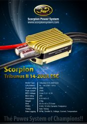 ESC Scorpion Tribunus II 14-200A SBEC