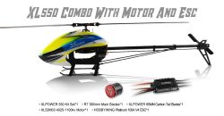Kit XL550 C/ Pás Zeal 550mm, Motor XL4025 1100KV e HW V4 Platinum 100A XL55K03