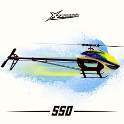 Kit XL550 C/ Pás Zeal 550mm e Motor XL4025 1100KV XL55K01